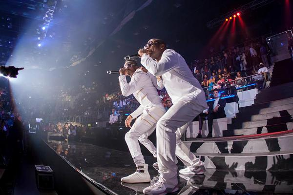 MTV Africa Music Awards - Diamond and Davido
