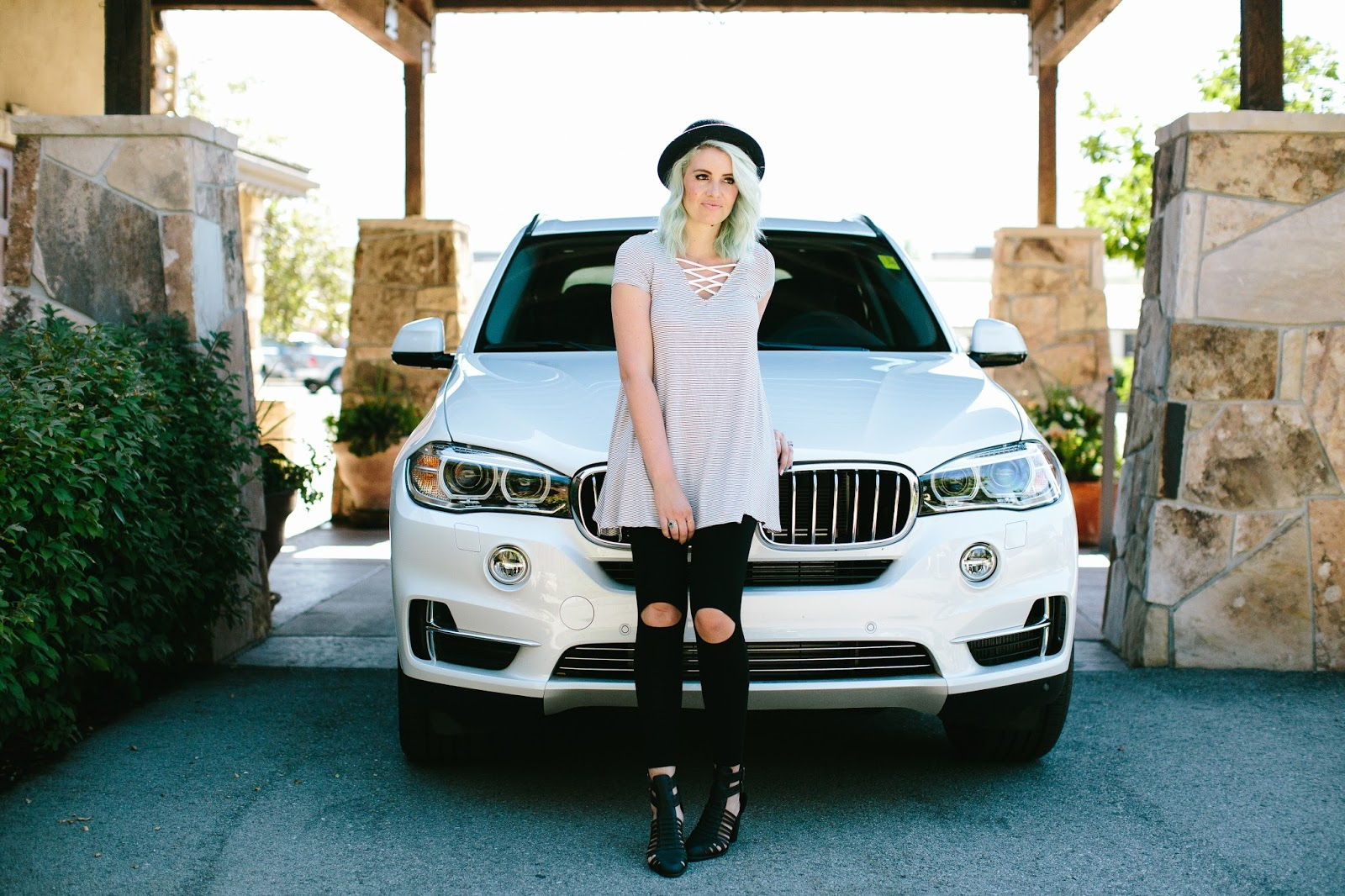 Utah Fashion Blogger, Sidney Clark Designs, Striped Top