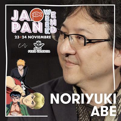 Noriyuki Abe, director de la serie de animación Bleach, en JW Valencia