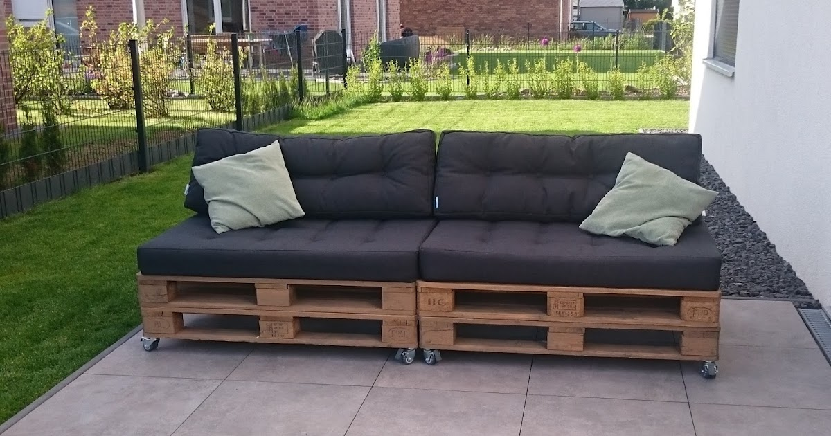 stadtvilla in elmenhorst outdoor palettensofa. Black Bedroom Furniture Sets. Home Design Ideas