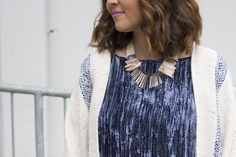 Anthropologie Crinkled Velvet Tunic