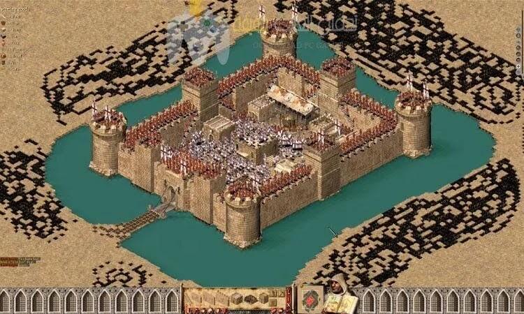 تحميل لعبة صلاح الدين Stronghold Crusader جميع الاصدارات برابط واحد