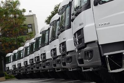 Mercedes-Benz é a marca de caminhão mais lembrada do Brasil