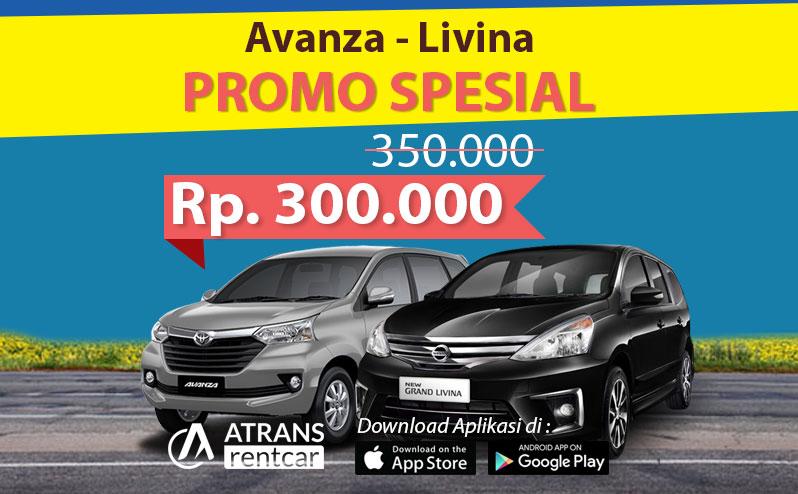 Spesial Promo rental mobil toyota Avanza dan Nissan Grand Livina