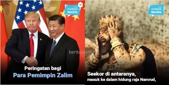 Nyamuk Untuk Namrud dan Corona untuk Xi Jinping