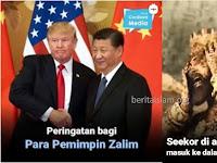Hal Sepele Peringatan Bagi Para Pemimpin Zalim! Nyamuk Untuk Namrud dan Corona untuk Xi Jinping?