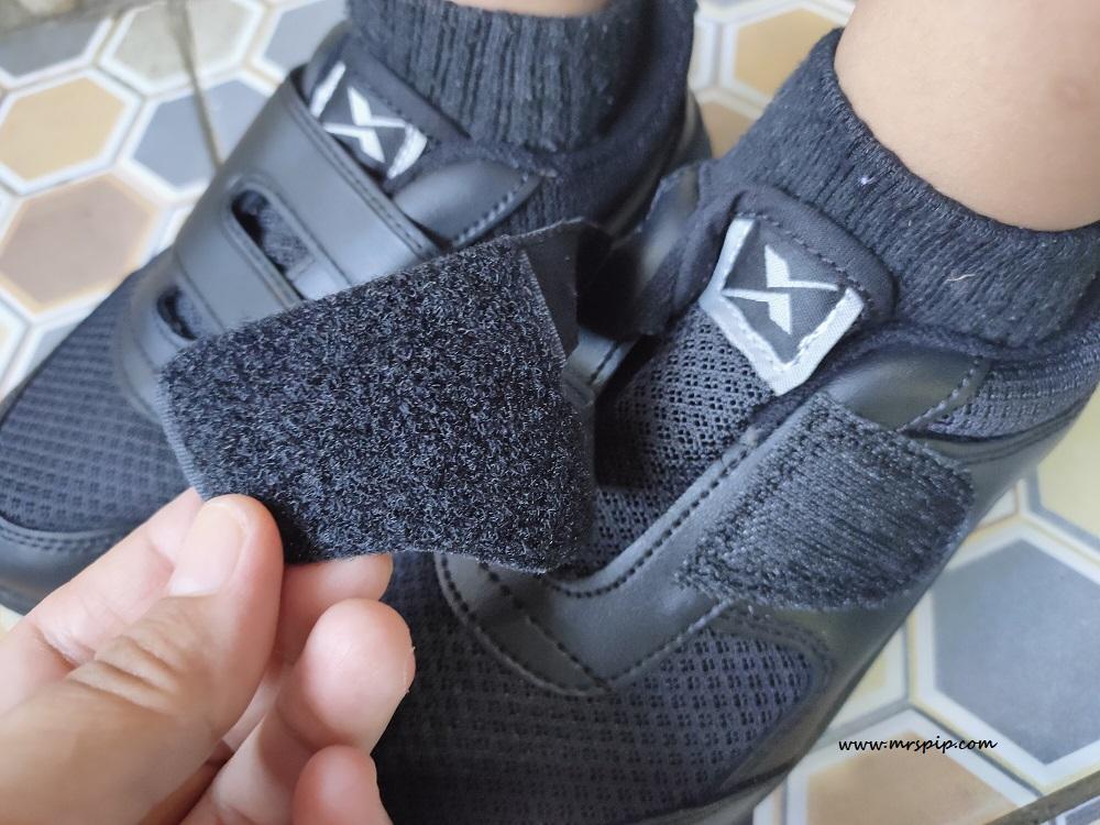 pallas x school shoes velcro tape