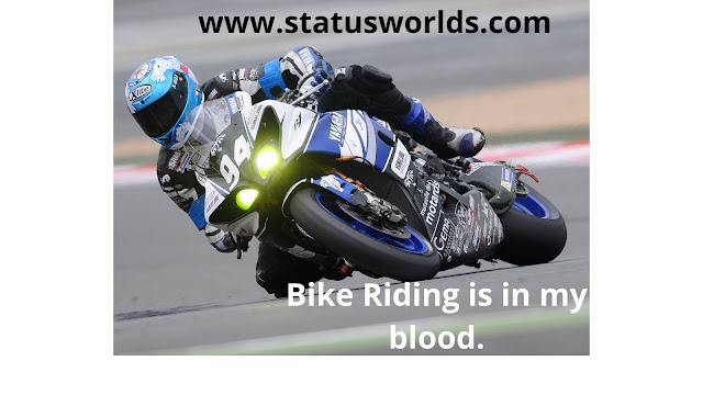 Bike Status, Quotes, and Caption