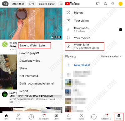 6 Tips Menonton Video Youtube Tonton Nanti Save to watch later zotutorial.com
