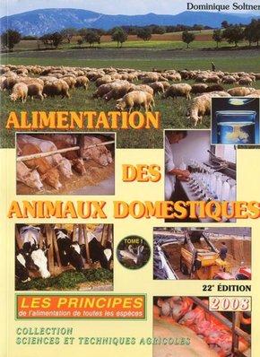 Alimentation Des Animaux Domestiques - WWW.VETBOOKSTORE.COM