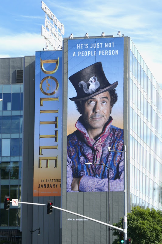 Giant Dolittle film billboard
