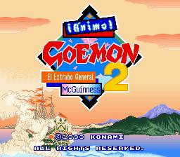 goemon 2 español