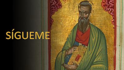 Evangelio según san Lucas (5, 27-32): Sígueme