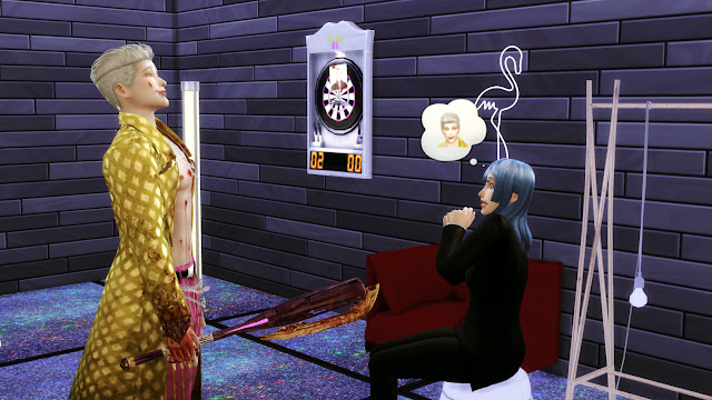 Sims 4 Ji-Woon Hak Dead by Daylight Trickster