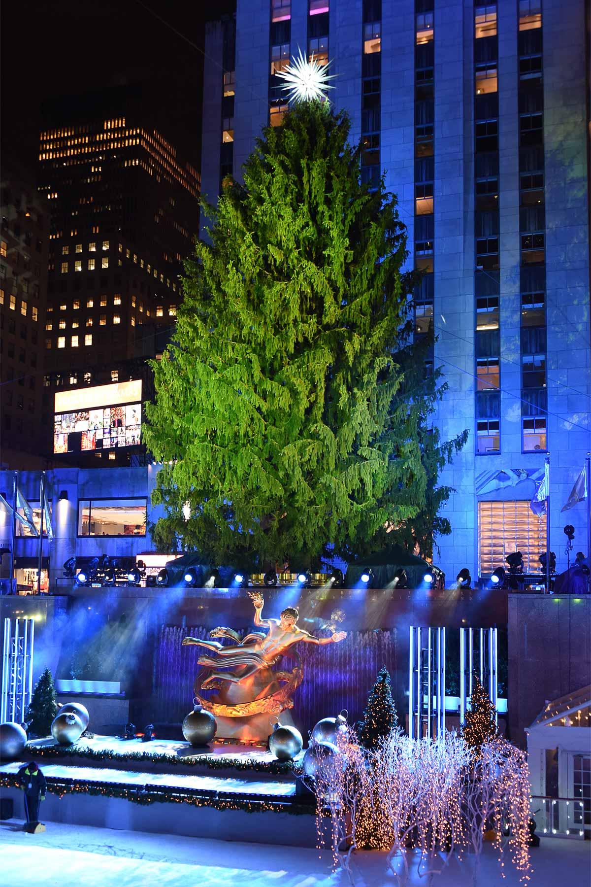 NYC New York Rockefeller Christmas Tree