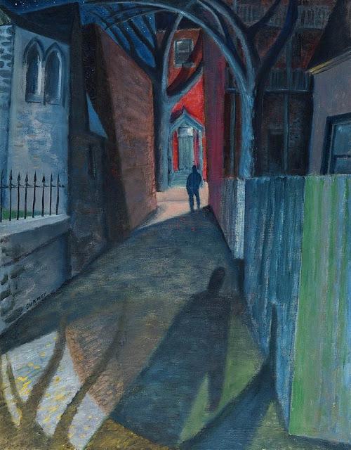 Philip Surrey, painting, malerei, bild, poetikblog, Ida, poetische art, schatten, vergangenheit, angst, leid, enttäuschung, das leben, schicksal, menschen, kunner