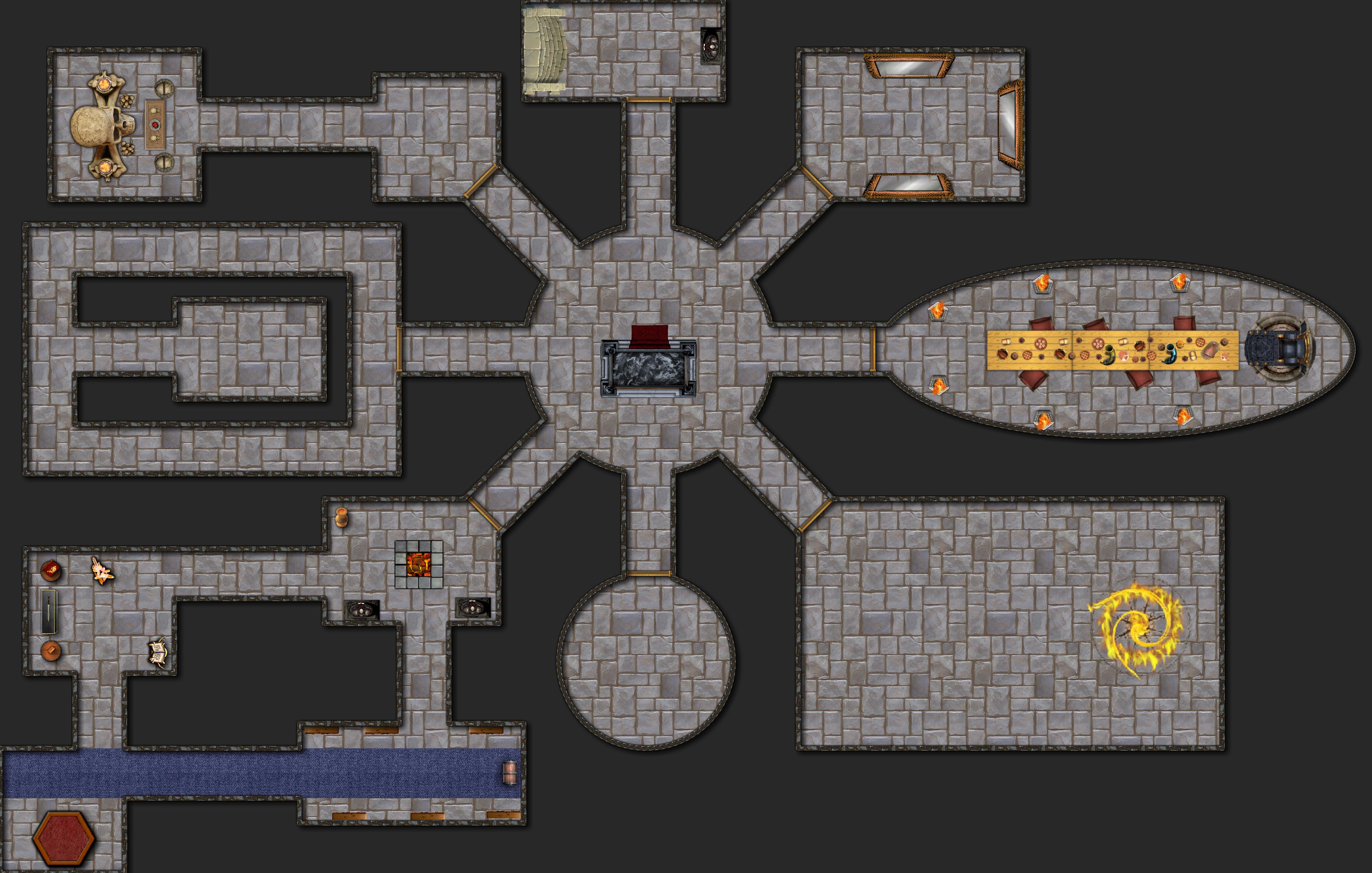 Aventura para Dungeons & Dragons - Las Ruinas de Silna  - Templo