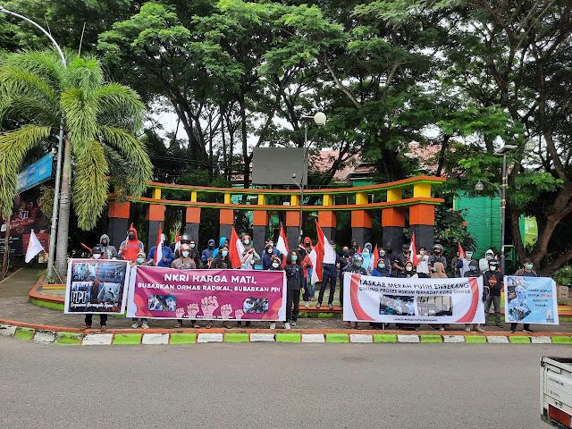 Laskar Merah Putih Enrekang Tuntut Pembubaran Ormas Yang Menodai Toleransi Dan Kerukunan Beragama
