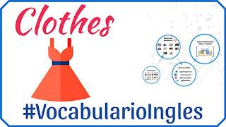 Vocabulario de la ropa en inglés con imágenes