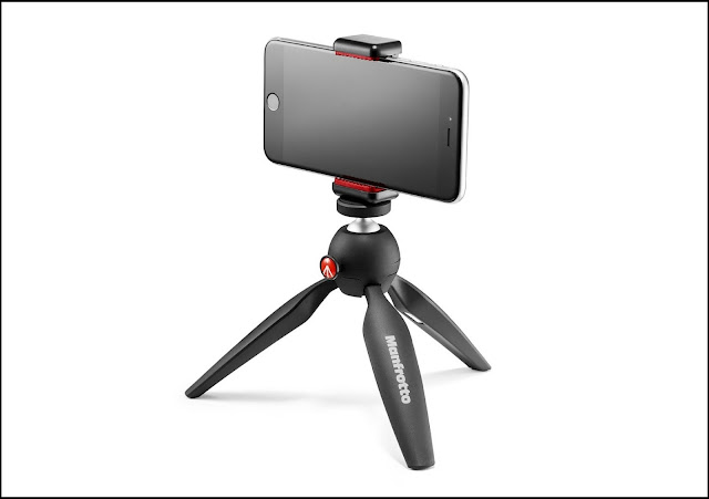 Manfrotto PIXI with Universal Smartphone Clamp