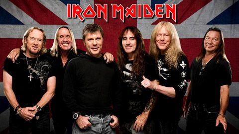 Banda Grupo Iron Maiden