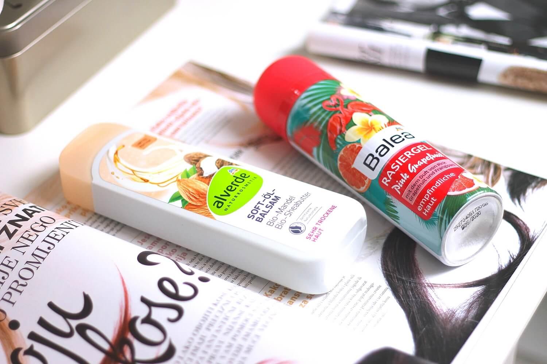 alverde uljni balzam za tijelo badem i shea maslac balea pjena za brijanje review recenzija iskustva blog