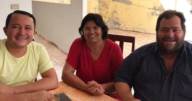 POLÍTICA: Vereadores, Marcos Mariano e Gutemberg Cabral são recebido no grupo de oposição em São Joaquim do Monte
