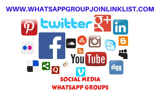 Social Media WhatsApp Group Join Link List
