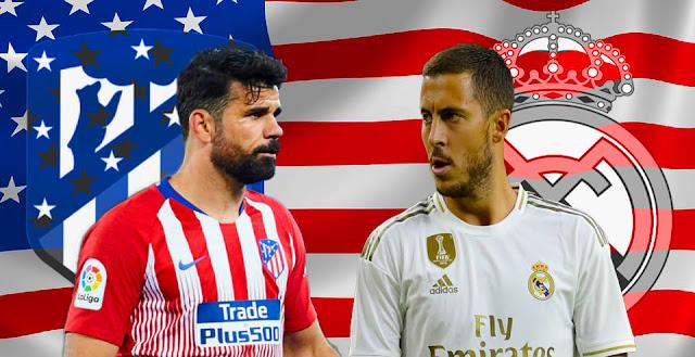متابعة مباراة ريال مدريد و أتلتيكو مدريد كأس الأبطال الدولية