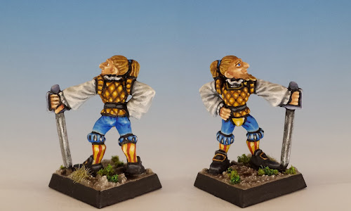 Talisman Swashbuckler, Citadel Miniatures (1987, sculpted by Aly Morrison)