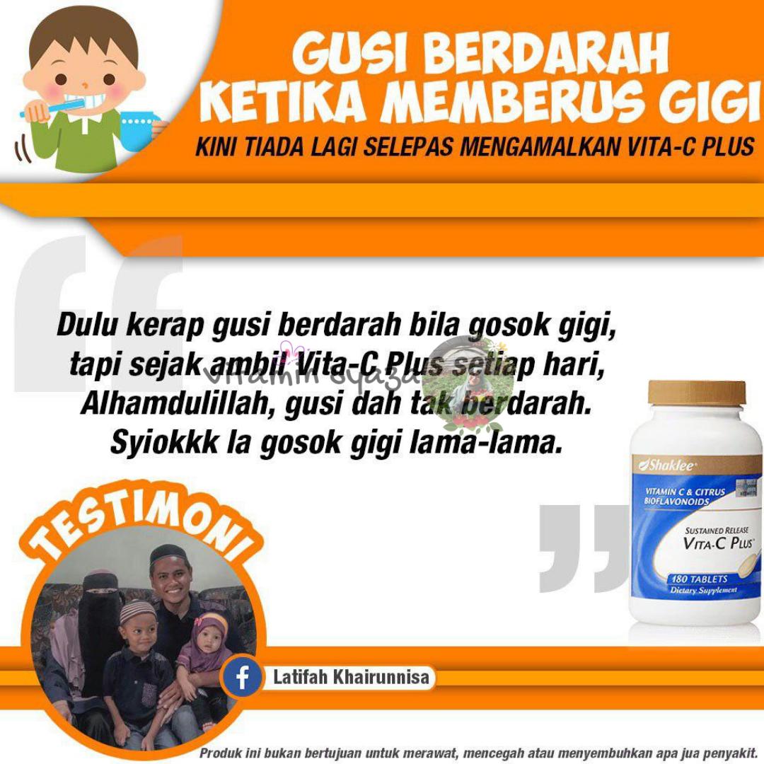 testimoni sustained released vita c vitamin c shaklee
