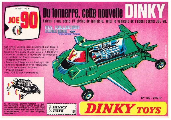Dinky Toys sur www.miniature-ford.be