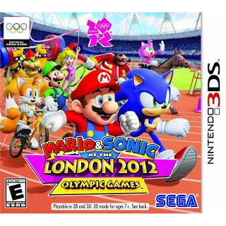 Mario y Sonic y los Juegos olimpicos Londres 2012, 3DS, Español, Mega, Mediafire