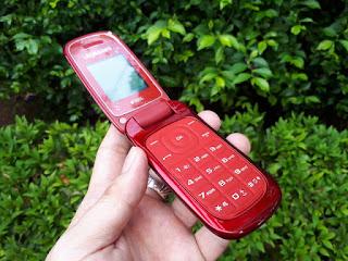 Samsung Caramel E1272 Plus With Camera Slot MicroSD Dual SIM Seken Mulus