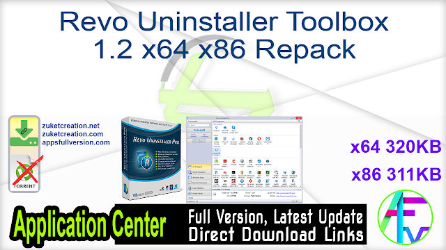 Revo Uninstaller Toolbox 1.2 x64 x86 Repack