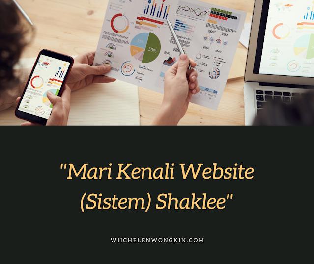 Mari Kenali Website (Sistem) Shaklee: Panduan Untuk Ahli Berdaftar Shaklee   Winichelen Wongkin