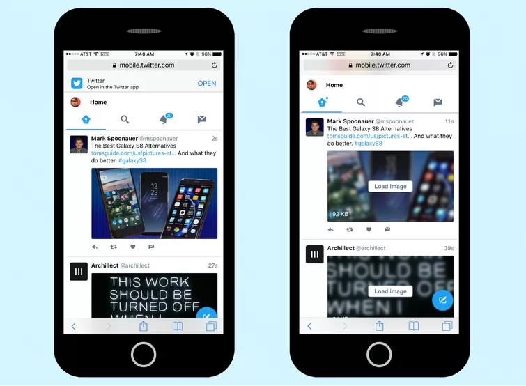 Mobile. Twitter iOS