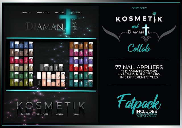 KOSMETIK Nail Applier Collab with Diamante
