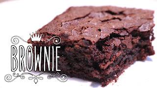O melhor Brownie com Nutella
