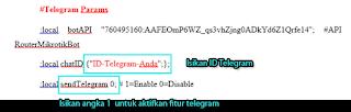 Parameter Telegram