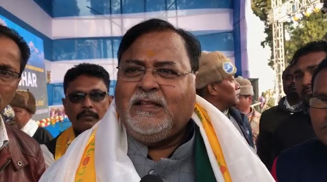 Education minister Partha Chatterjee