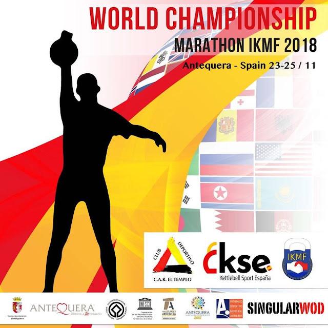 Campeonato del Mundo de Kettlebell Marathon en Antequera