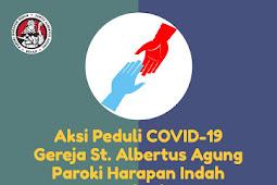 Aksi Peduli Covid-19 Tanggal 15 dan 17 April 2020