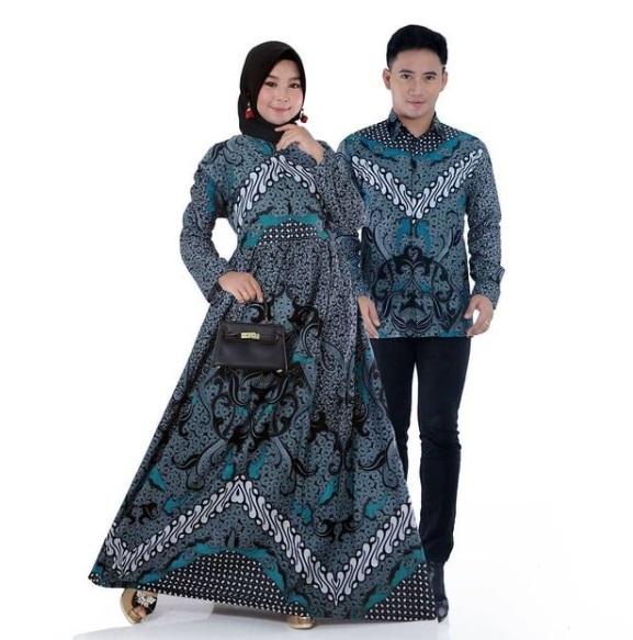 Gamis Batik Couple Murah Banget Kaka, Spesial Harga Mulai dari Rp 75.000 Yuk Buruan Order