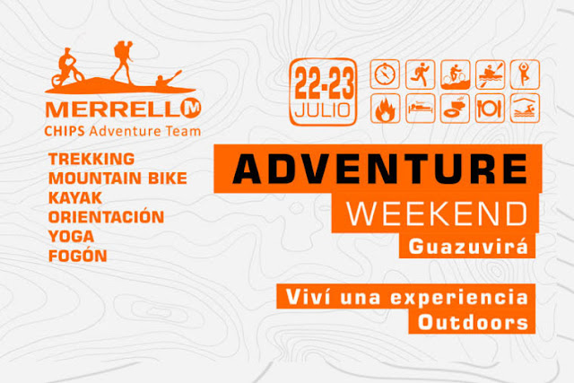 Adventure Weekend con Chips Adventure en Guazuvirá (Canelones, 22y23/jul/2017)