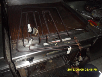 Heater of grill