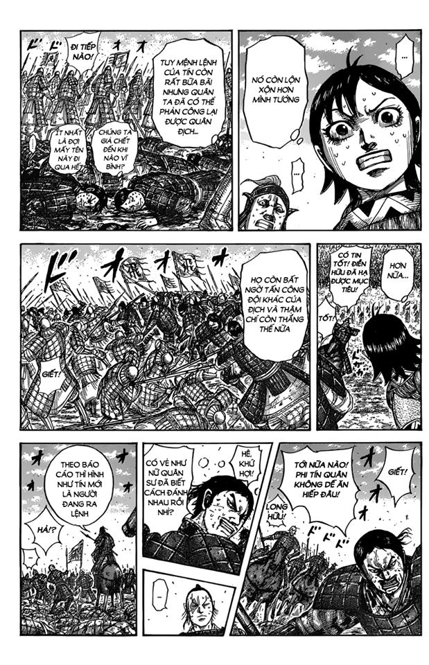 Kingdom Chapter 546: Nơi ngọn lửa bùng cháy trang 8