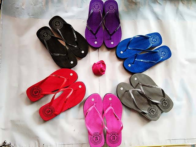 Grosir Wedges Polos Termurah | Grosir Sandal Jepit 082317553851