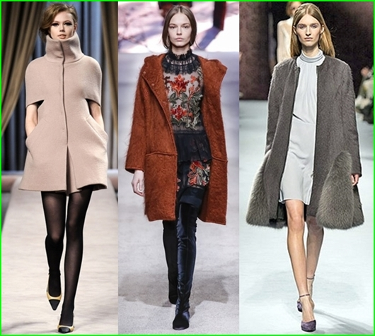 Damen Mantel Trend Herbst-Winter 2015/2016