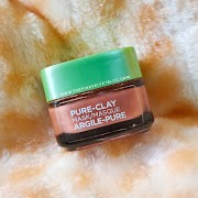 Loreal Pure Clay Mask Red - Exfoliate and Refine Pores - Review